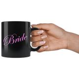 Bride 11oz Black Mug