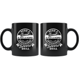 Being A Scout Is Not A Hobby It's A Post Apocalyptic Survival Skill 11oz Black Mug