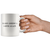 Make America Goth Again White Mug