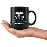 Nurse Practitioner Est. 2020 11oz Black Mug
