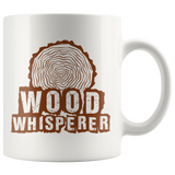 Wood Whisperer 11oz White Mug
