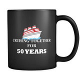 Cruising Together Black Mug