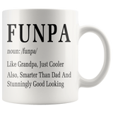 Funpa 11oz White Mug