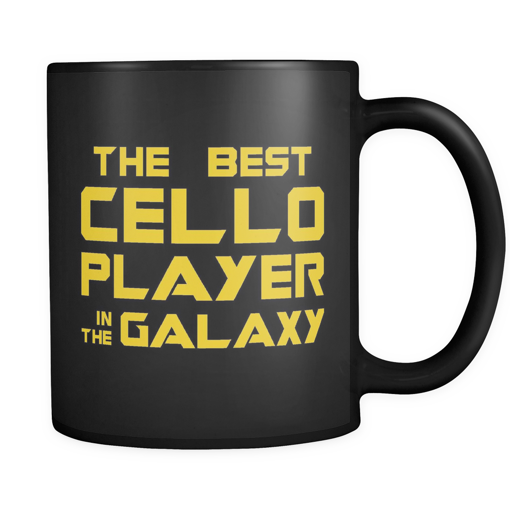 The Best Cello Player In The Galaxy Mug