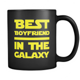 Best Boyfriend In The Galaxy Black Mug
