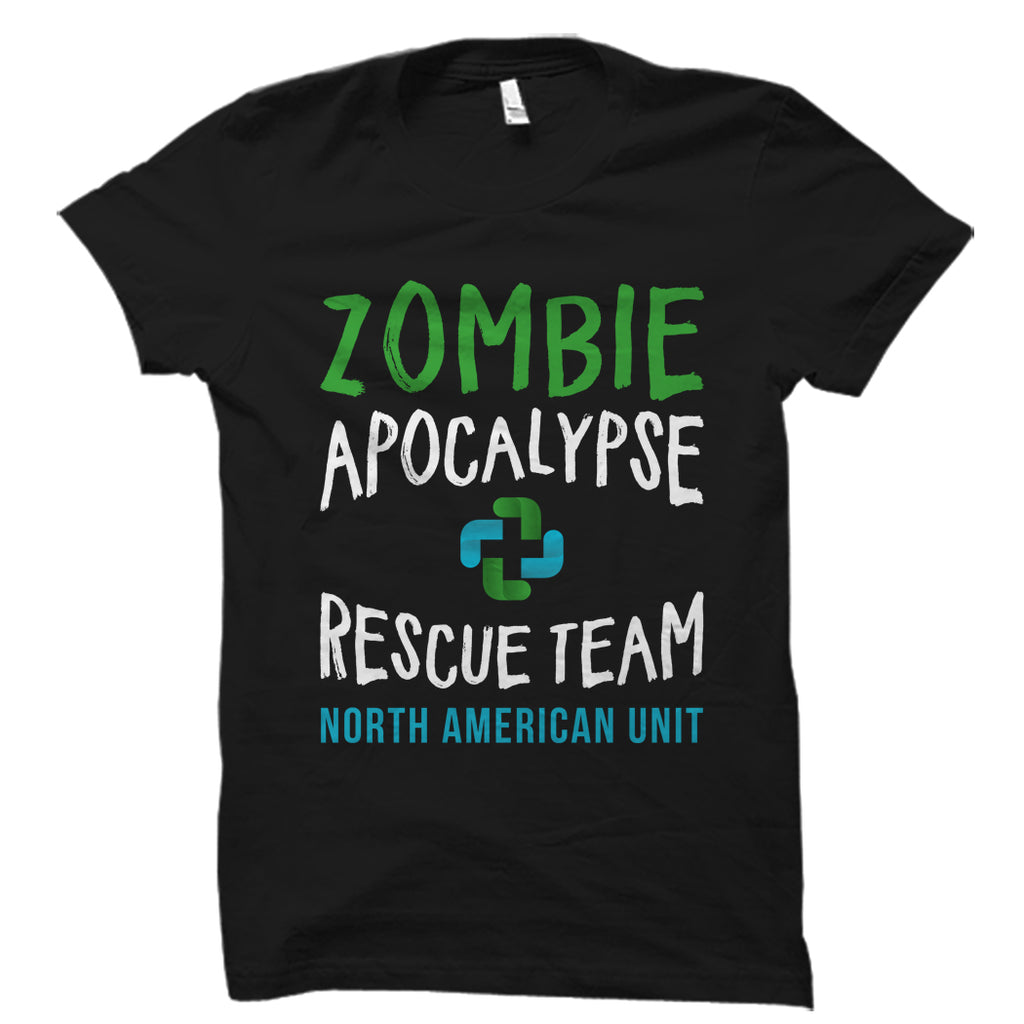 Zombie Apocalypse Rescue Team Shirt