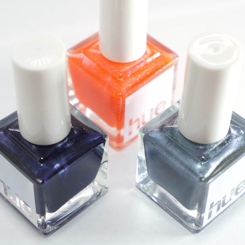 Box No. 3  Nail Polish <b>Subscription</b> Golpe + Media Luna + La Parada
