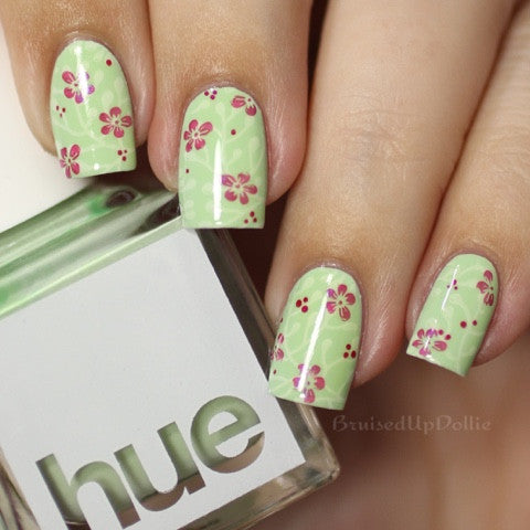 SquareHue Nail Polish Collection Scooter Key West