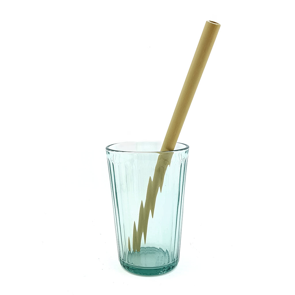 Bamboo Straw in glass