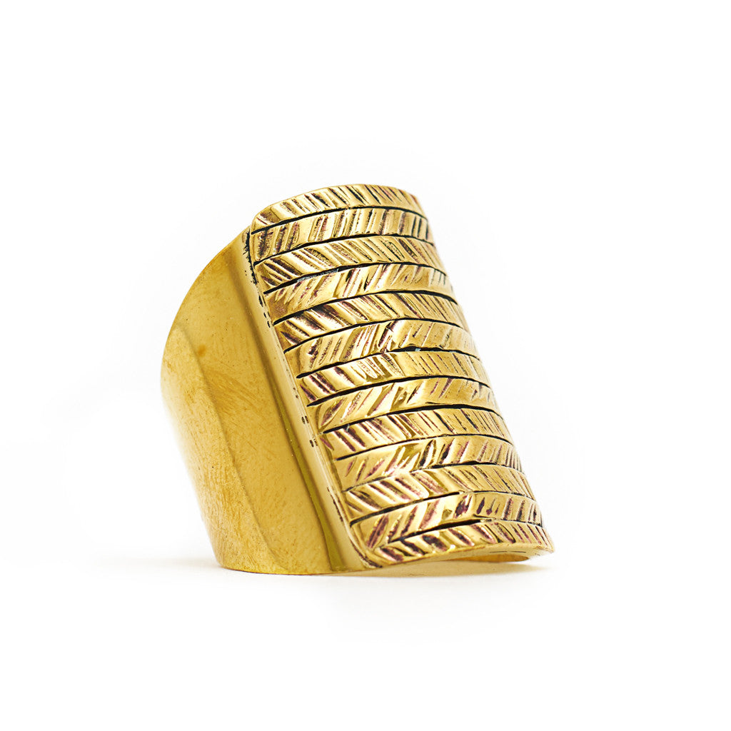 Ring Boho Native front