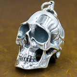 101grams huge heavy solid skull head pendant
