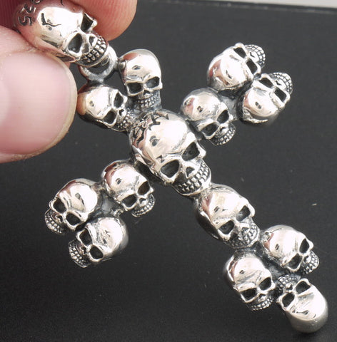 13g Multi skull cross