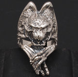19g huge gargoyle demon ring
