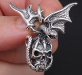 17g Dragon skull head pendant