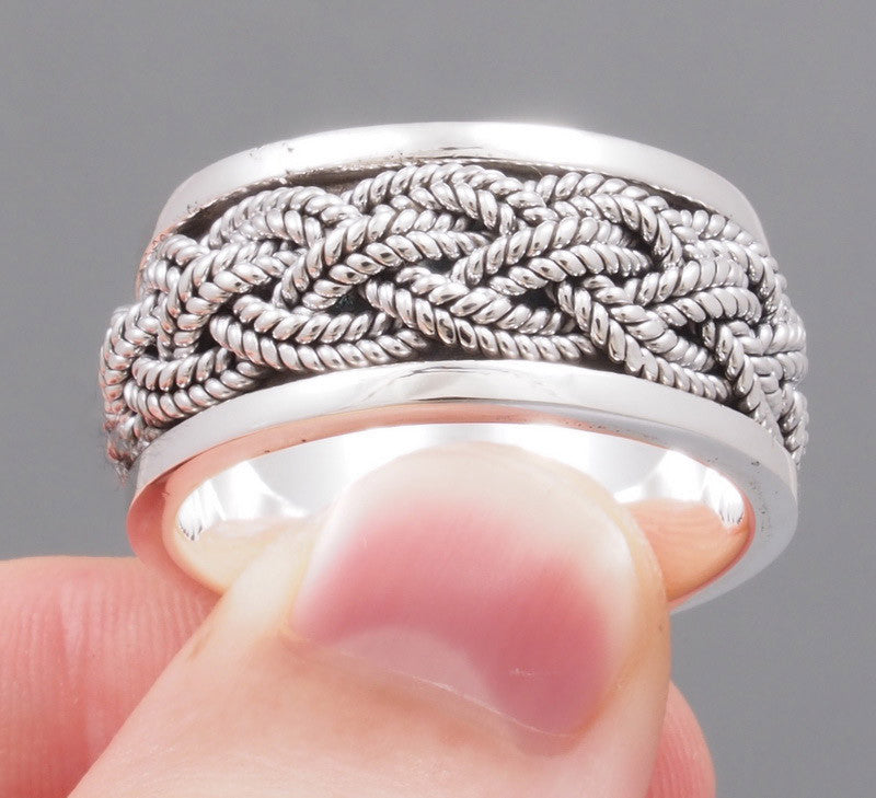 14.5g spin ring 925 sterling silver g2