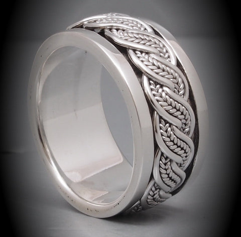 11g spin ring 925 sterling silver c5