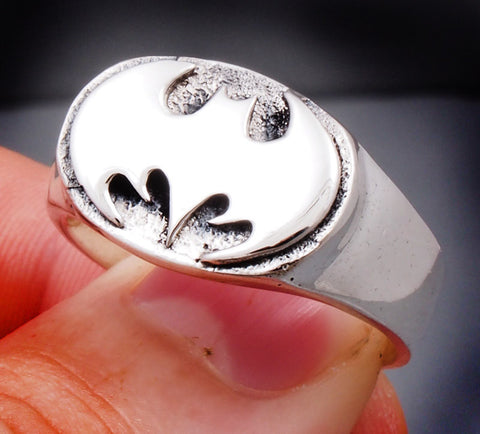 12.5g batman ring 925 sterling silver
