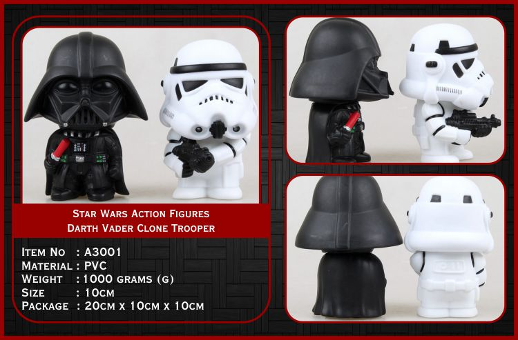 Star Wars Action Figures A3001