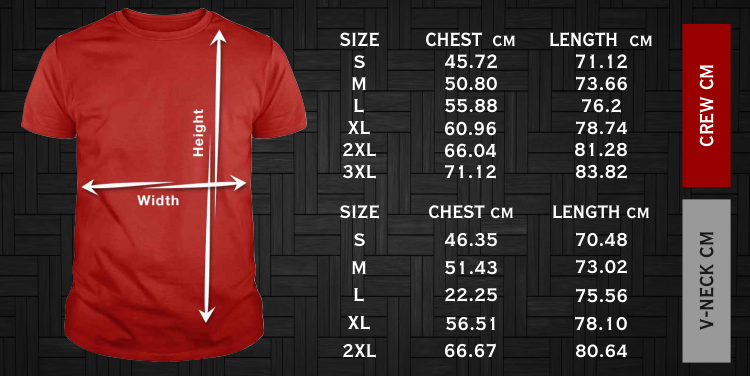 T-shirt and hoodie Size measurement