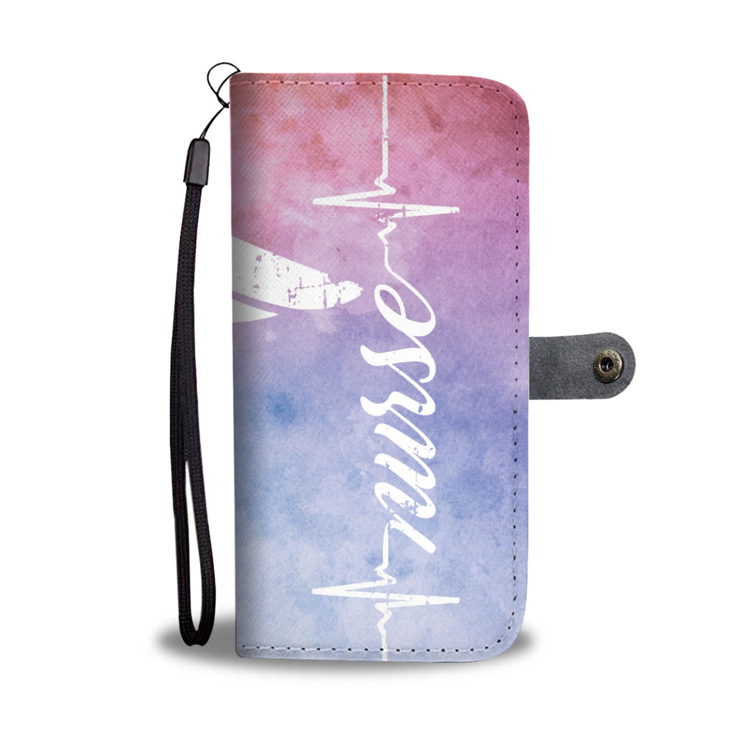 Nurses Heartbeat Phone Wallet Case