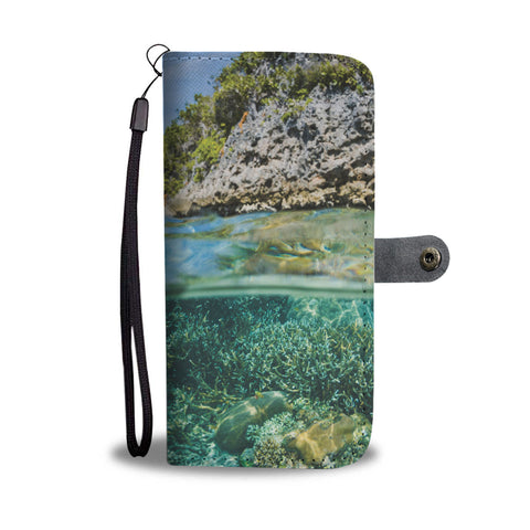 Coral Island Phone Wallet Case