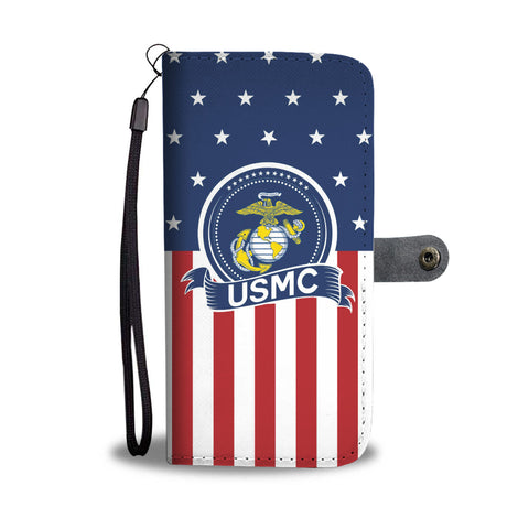 U.S Marine Wallet Phone Case
