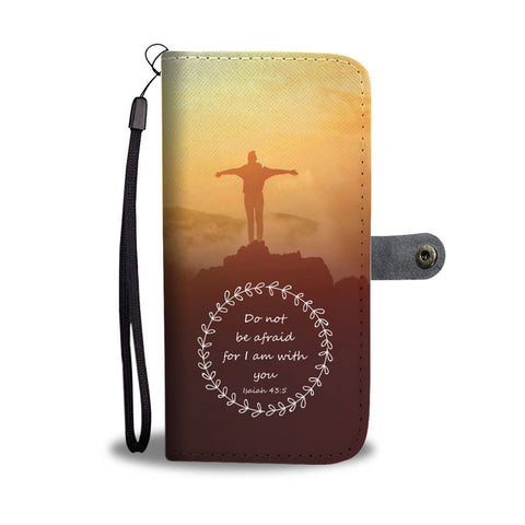 I am with you wallet phone case