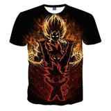 Dragon Ball Z 3D Printing T Shirt