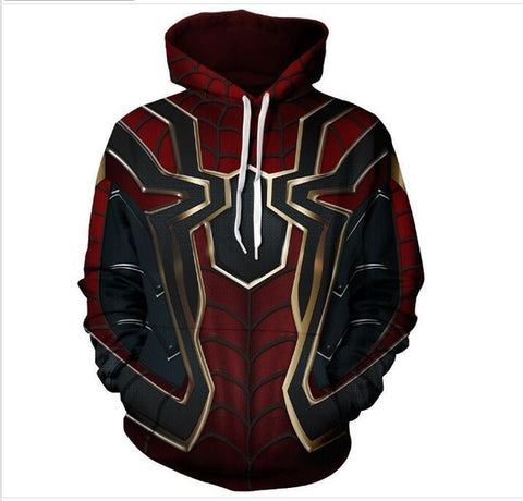 EXCLUSIVE LIMITED EDITION SPIDERMAN - IRON SPIDER HOODIE
