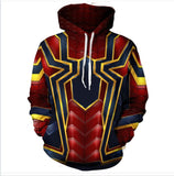EXCLUSIVE LIMITED EDITION IRON SPIDERMAN HOODIE