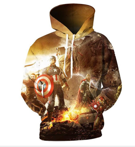 EXCLUSIVE LIMITED EDITION AVENGERS HOODIE
