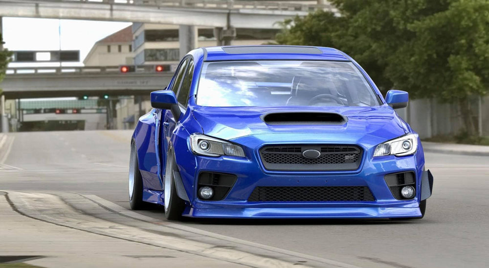 Oiram WRX/STI  15+ Front Lip (in stock)
