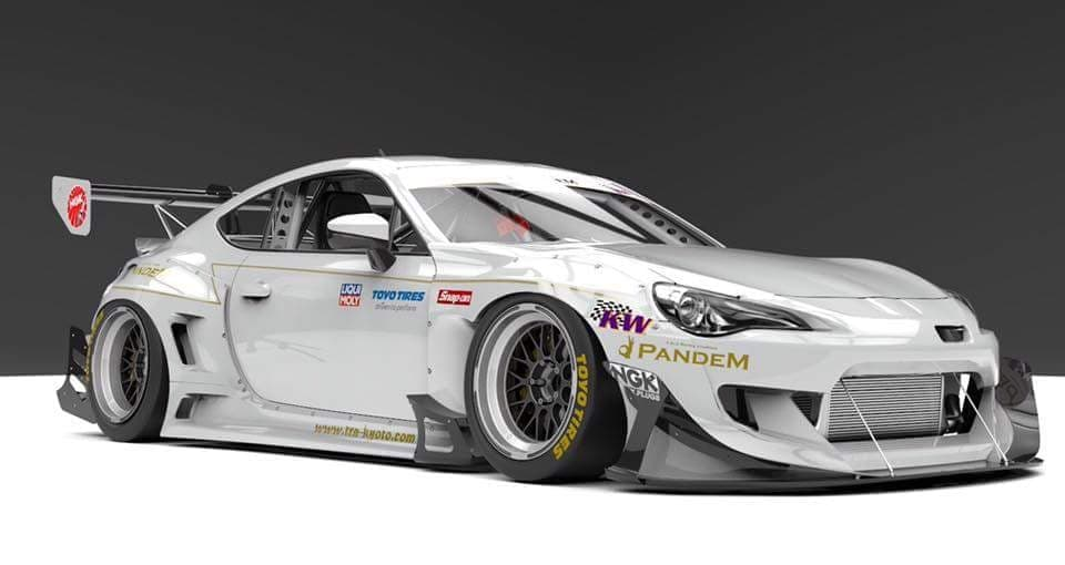Pandem FRS/ BRZ Ver 3.5 Racing Canards