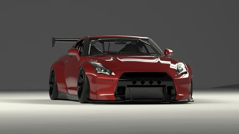 pandem nissan gt r r35 pandem usa. Black Bedroom Furniture Sets. Home Design Ideas