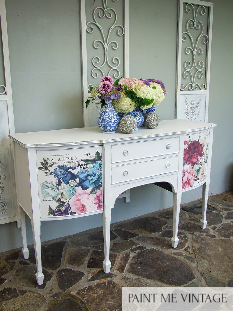 Champagne Waltz Sideboard step by step tutorial