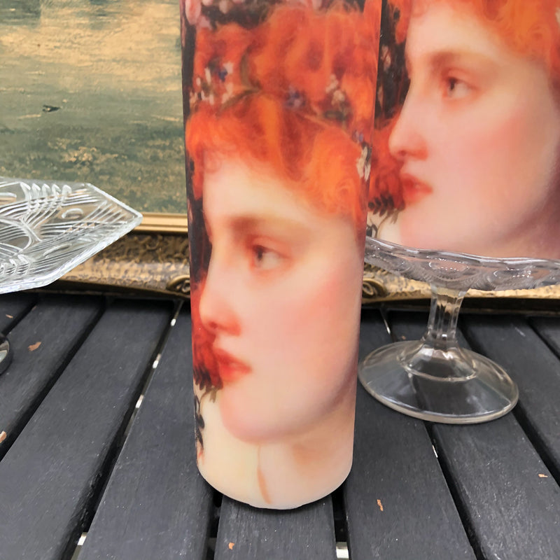 Raphael Lady Candle  Tall-Medium