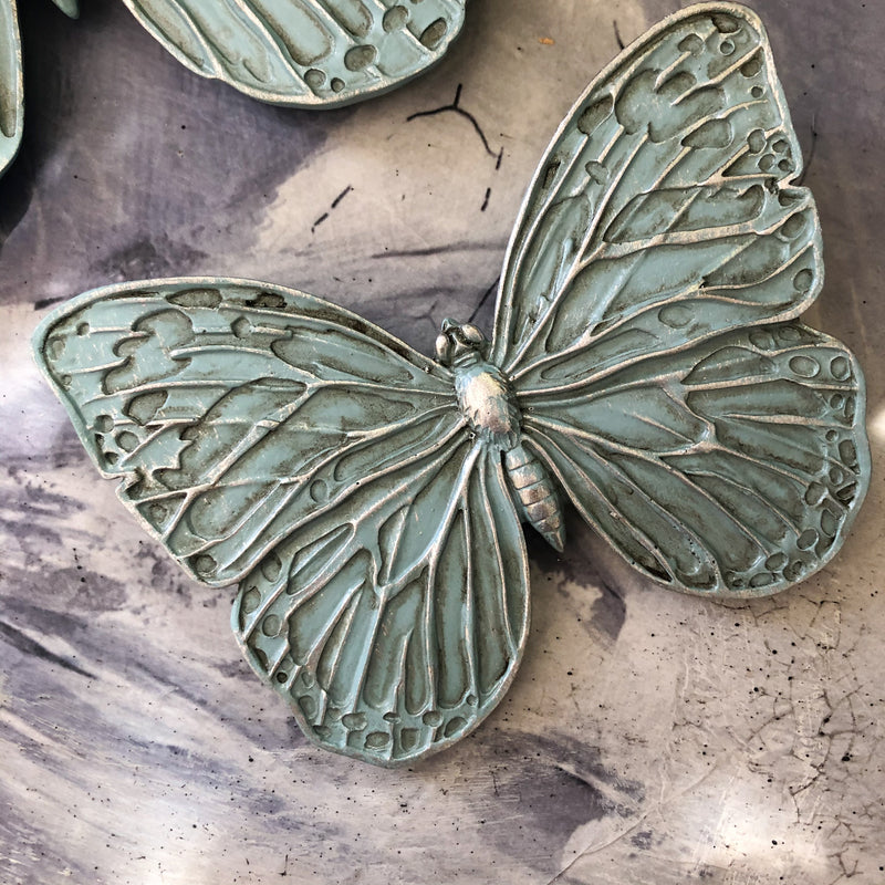 Butterfly Small Wall Decor Duckegg