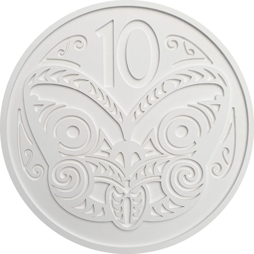 NZ 10 cent Coin Wall Art