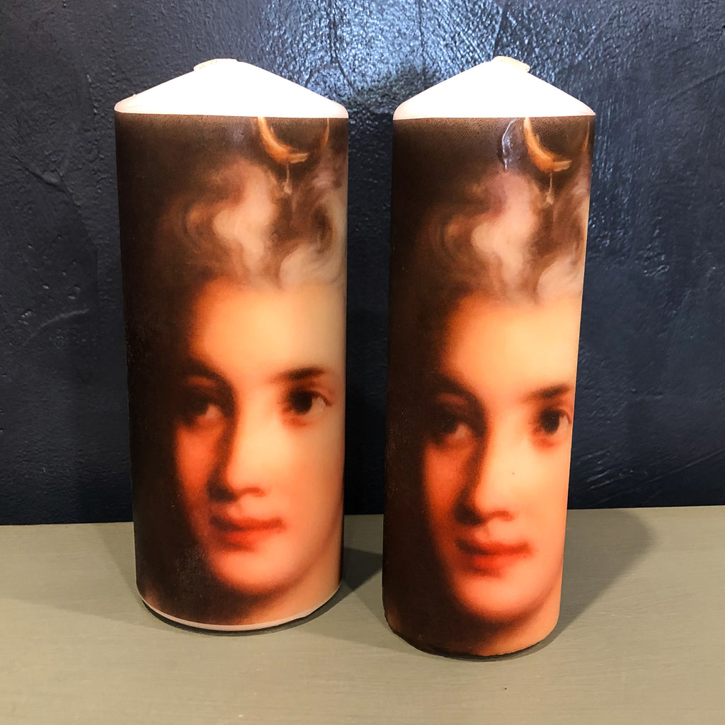 Antoinette Candle Tall-Large