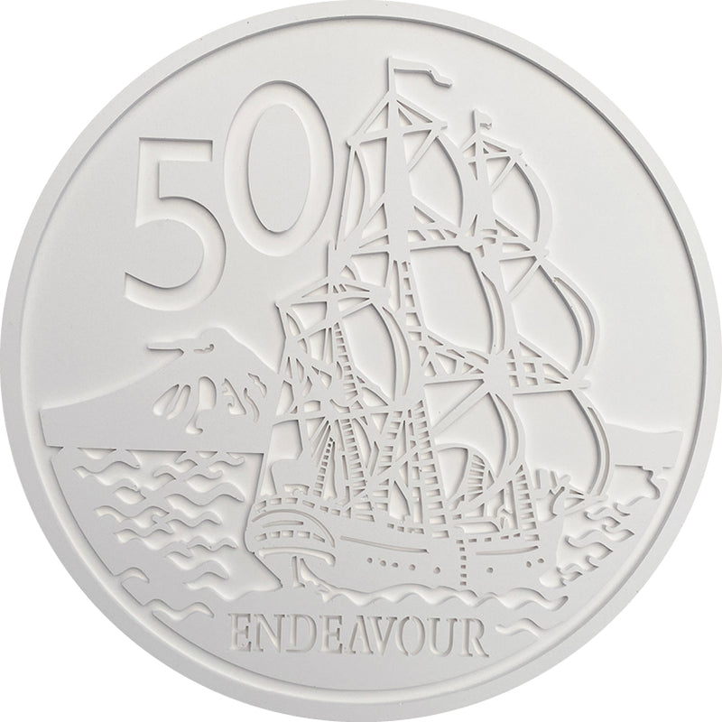 NZ 50 cent Coin Wall Art