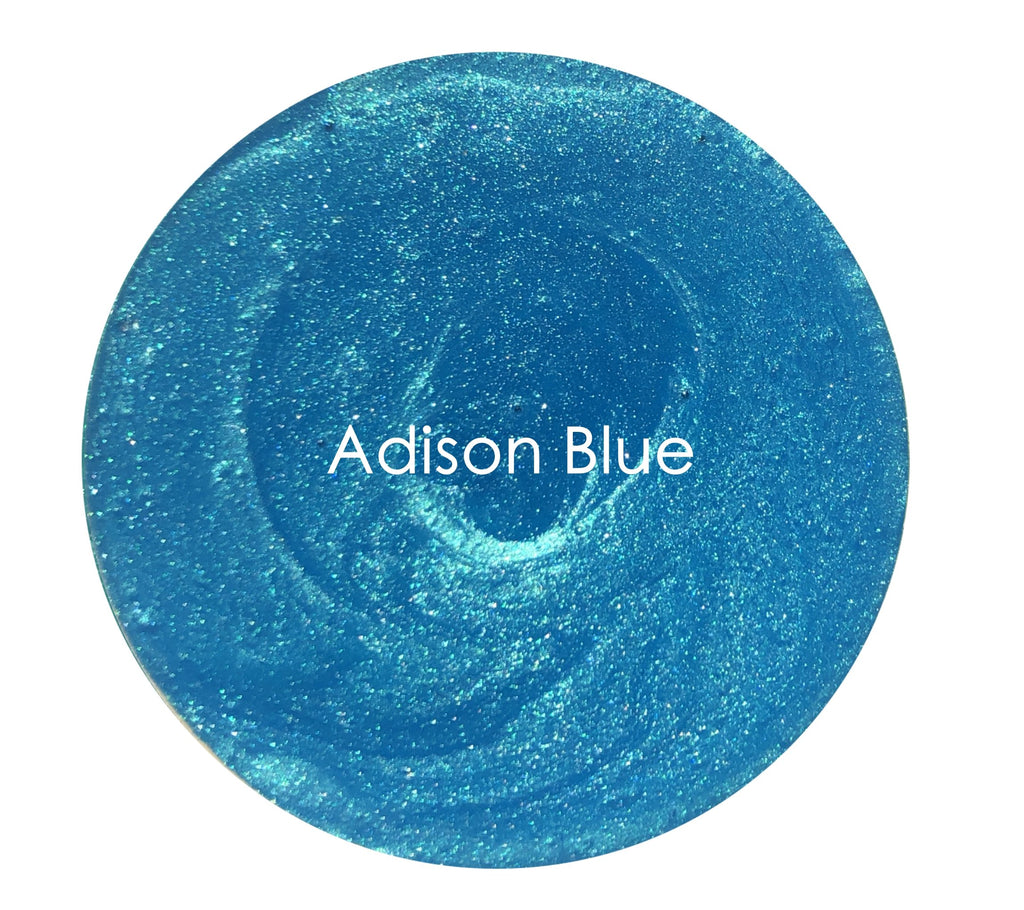 Metallic Glaze -Adison Blue