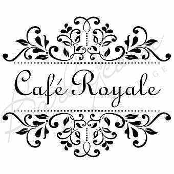 Cafe Royale Stencil nz