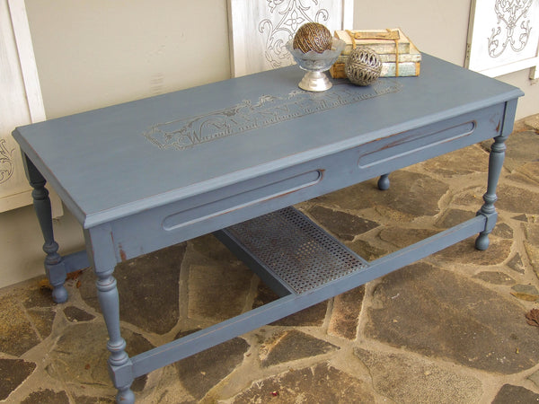 Bien Blue Coffee Table - commission