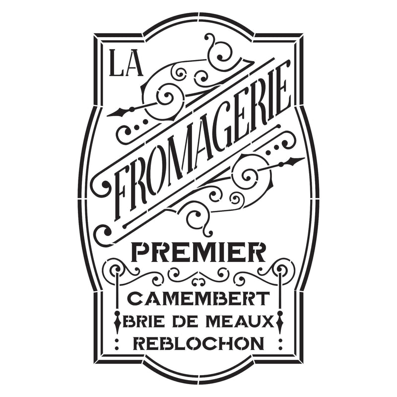 Fromagerie Stencil