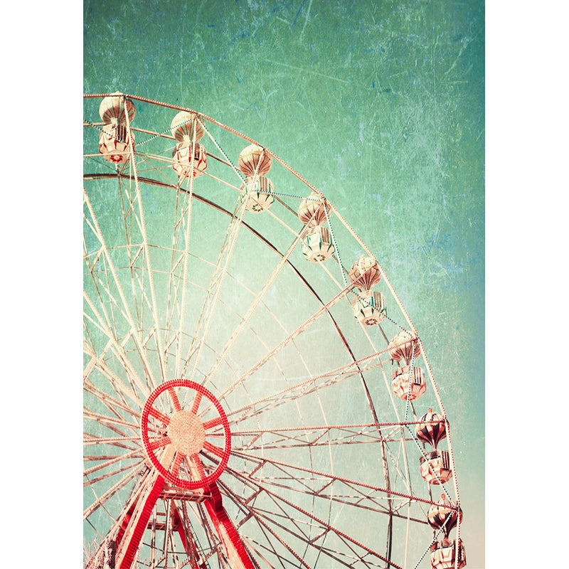 Ferris Wheel A3 XL Decoupage Paper