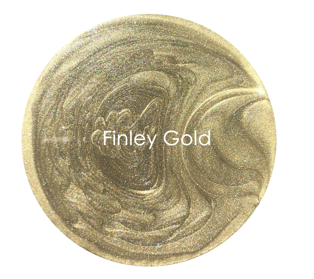 Metallic Glaze - Finley Gold