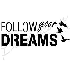 Follow your Dreams Vintage Stencil | Paint Me Vintage | Tauranga, New Zealand | chalk paint | chalkpaint | furniture painting | vintage paint | stencils | IOD | Iron Orchid Design | furniture transfers | workshops | where to buy stencils | stencils for sale nz | plastic stencils nz | craft stencils nz | Follow your Dreams Vintage Stencil
