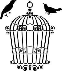 Birdcage Stencil | Paint Me Vintage | Tauranga, New Zealand | chalk paint | chalkpaint | furniture painting | vintage paint | stencils | IOD | Iron Orchid Design | furniture transfers | workshops | where to buy stencils | stencils for sale nz | plastic stencils nz | craft stencils nz | Birdcage Stencil