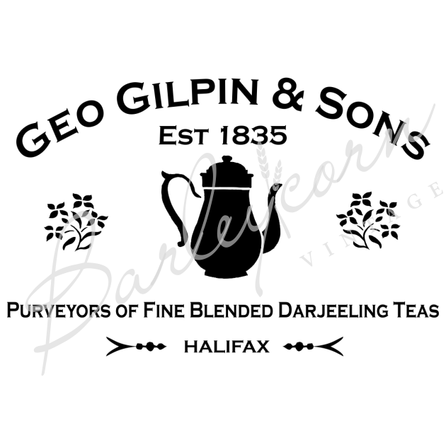 Gilpins Tea Advertising Stencil | Paint Me Vintage | Tauranga, New Zealand | chalk paint | chalkpaint | furniture painting | vintage paint | stencils | IOD | Iron Orchid Design | furniture transfers | workshops | where to buy stencils | stencils for sale nz | plastic stencils nz | craft stencils nz | Gilpins Tea Advertising Stencil