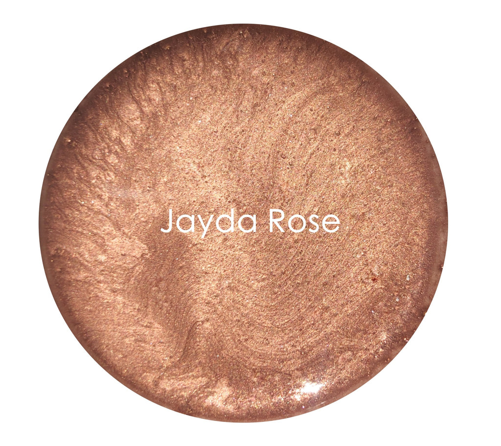 Metallic Glaze -Jayda Rose